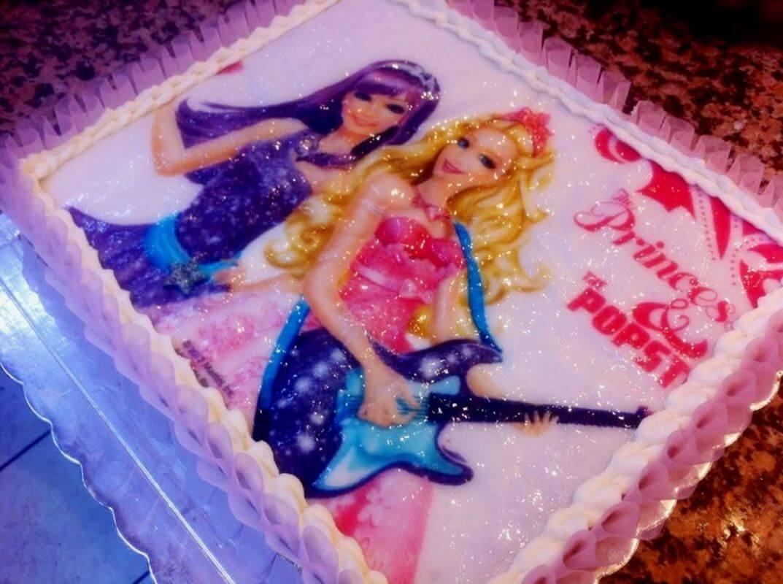 Τούρτα Γενεθλίων - Barbie Popstar