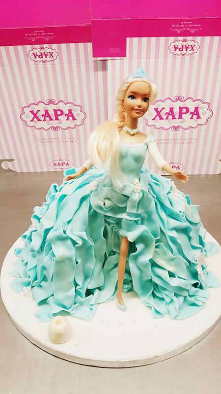 Τούρτα Γενεθλίων - Barbie