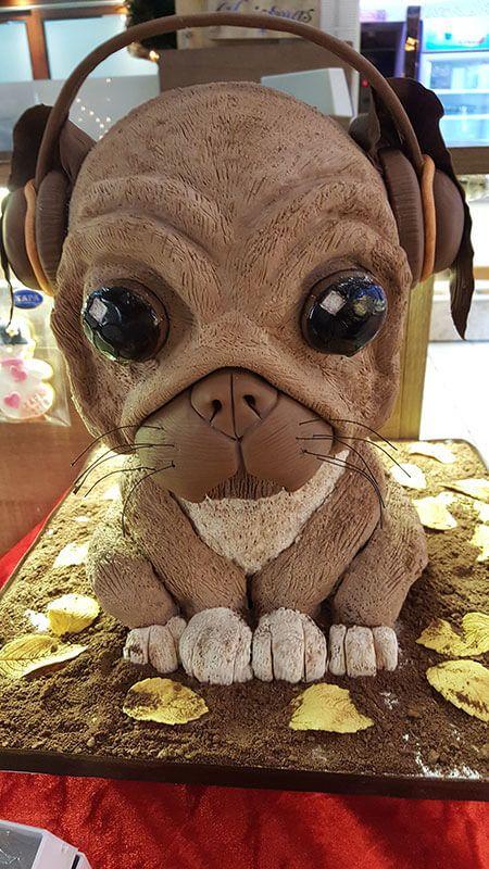Τούρτα Γενεθλίων - Σκυλάκι