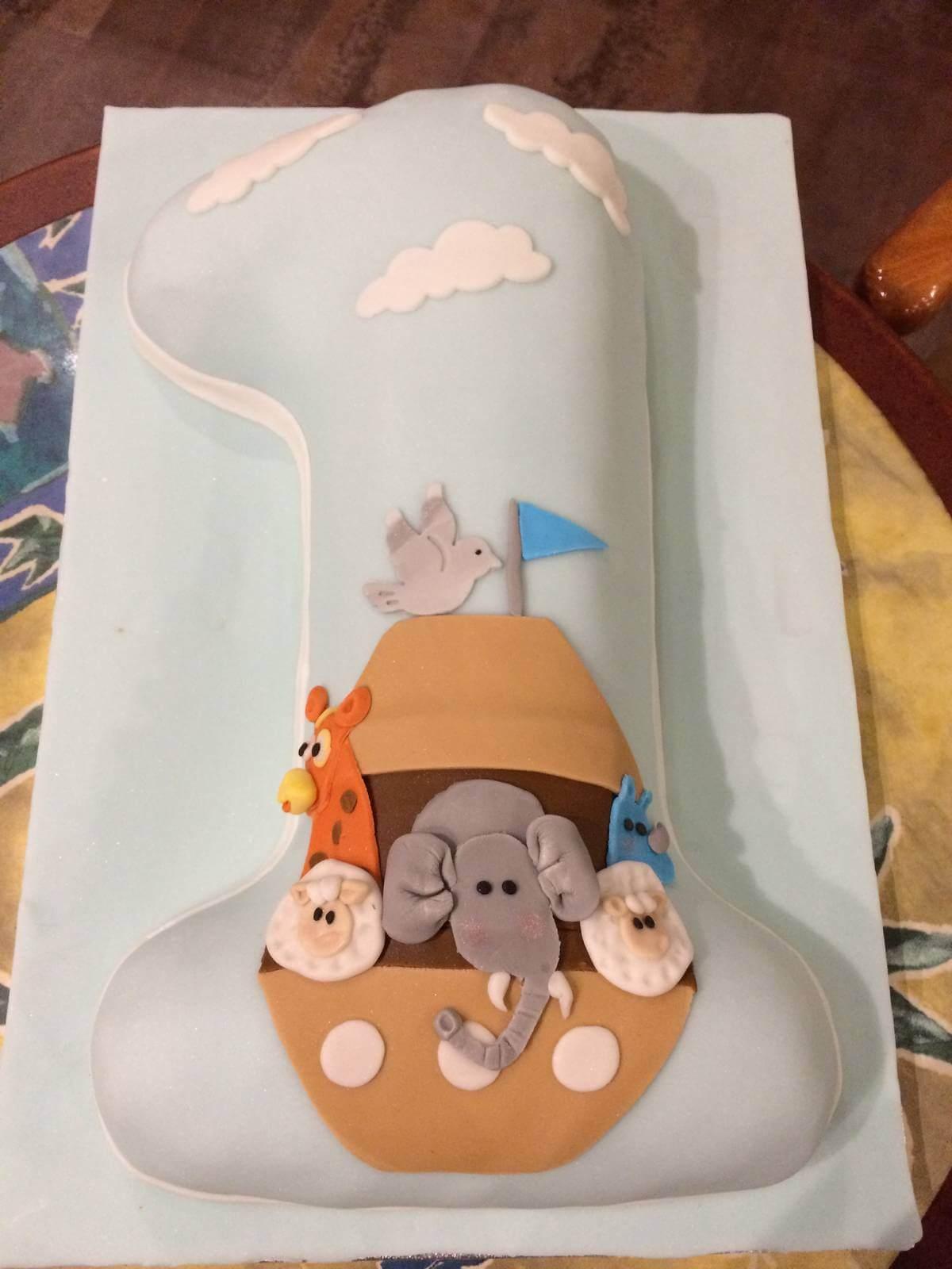 Τούρτα Γενεθλίων - Ελεφαντάκι