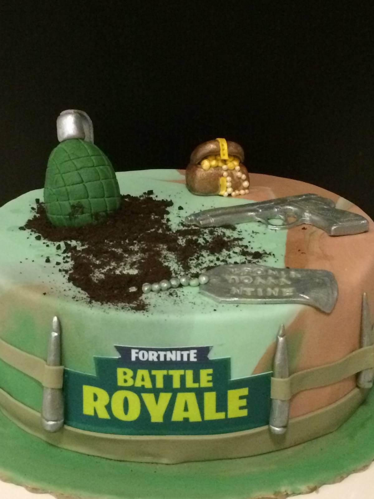 Τούρτα Γενεθλίων - Battle Royale