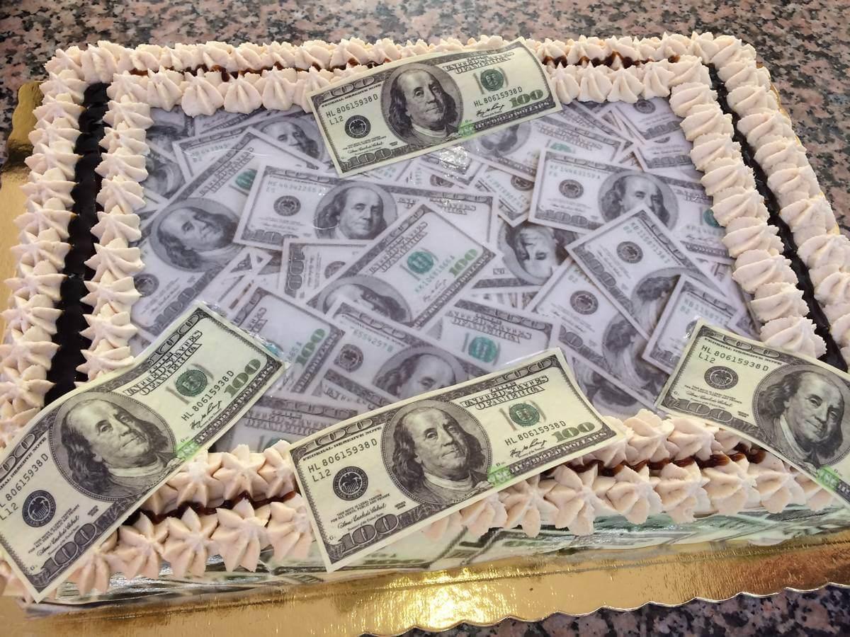 Τούρτα Γενεθλίων - Δολάρια