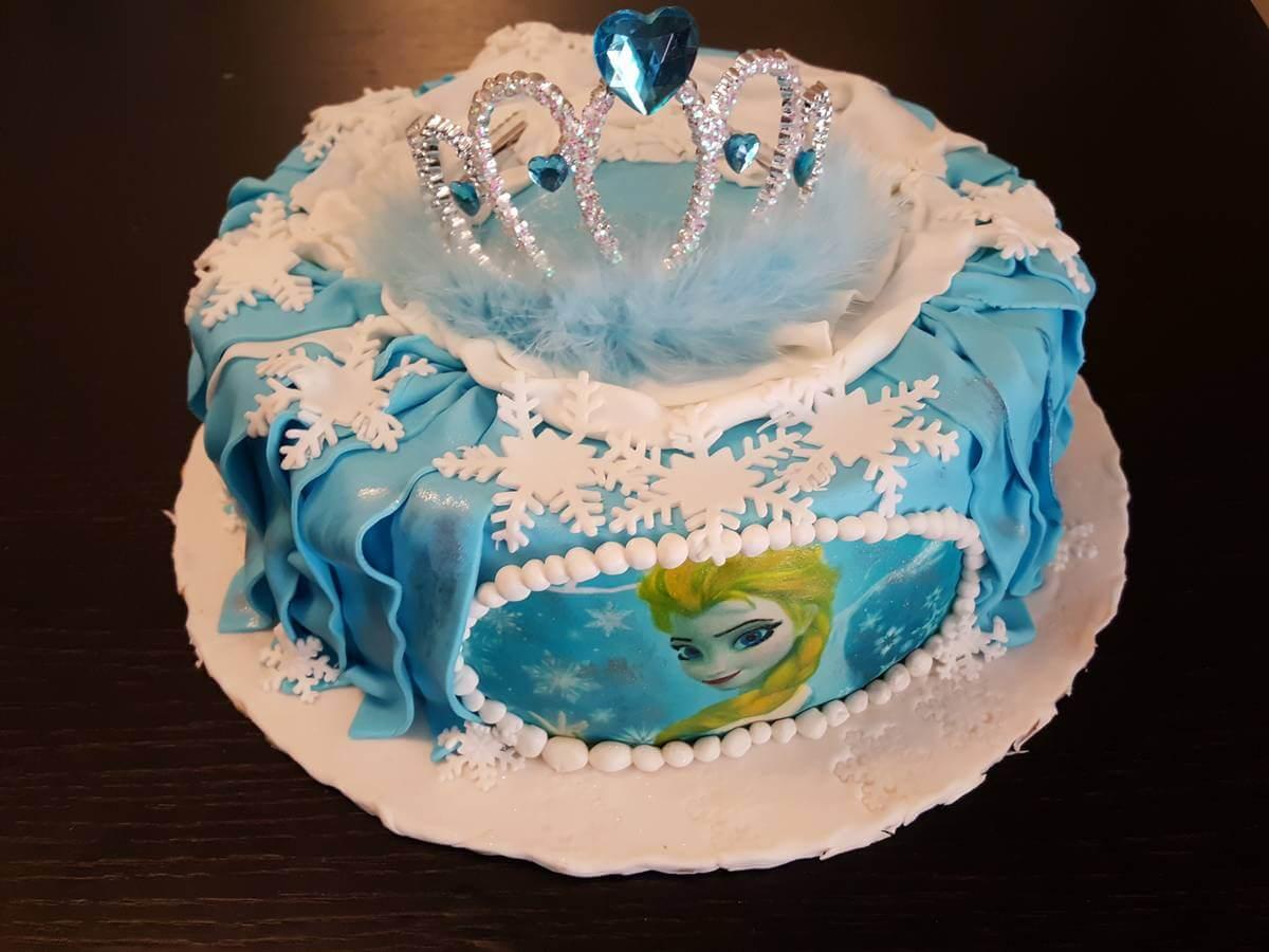 Τούρτα Γενεθλίων - Frozen