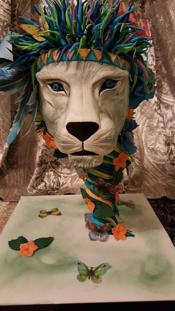Τούρτα Γενεθλίων - Λιοντάρι